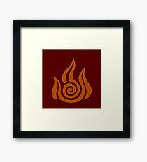 Firebender 2 Framed Print