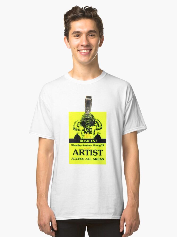 Roar In Classic T-Shirt Front