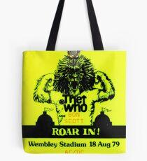 Roar In Tote Bag