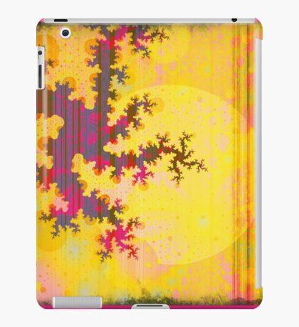 Oriental Moon Behind My Courtain iPad Case/Skin