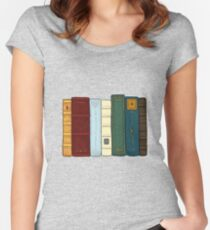 I love literature Women's Fitted Scoop T-Shirt
