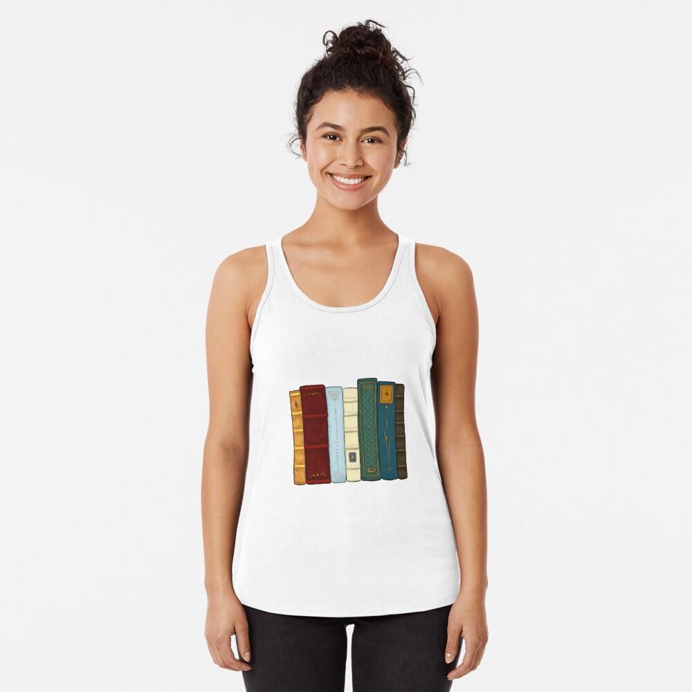 Amo la literatura Camiseta con espalda nadadora