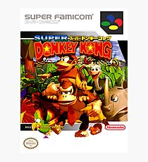 Donkey Kong Country Japanese Cover Photographic Print