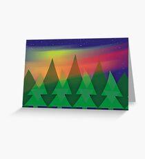 Aurora Christmas Greeting Card