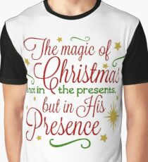 The Magic Of Christmas Graphic T-Shirt