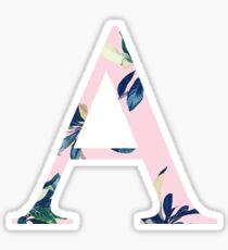 Alpha with Plants Sticker