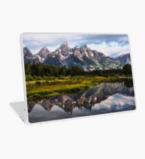 Grand Tetons Reflections Laptop Skin