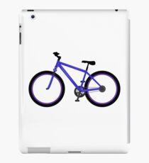 Blue bike bicycle iPad Case/Skin