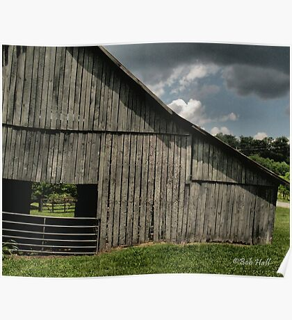 """""""FARMER'S HANGOUT""""... prints and products Poster"""