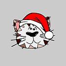 Weihnachtskatze von JCDesignsUK