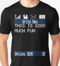Text Message (black) T-Shirt