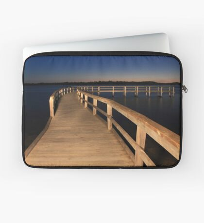 Lake Clifton Boardwalk At Dusk  Laptop Sleeve