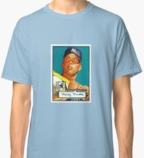 Mickey Mantle New York Yankees Baseball MLB Rookie Card Classic T-Shirt