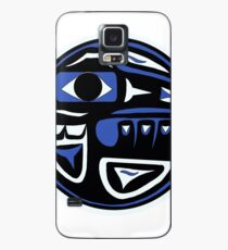 Northwest Indian Raven Moon Case/Skin for Samsung Galaxy