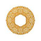 Golden doughnut  by stamptout