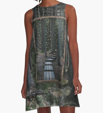 Mirror Of The Soul A-Line Dress