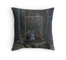 Mirror Of The Soul Throw Pillow