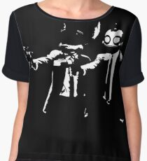 Ratchet and Clank Pulp Fiction Chiffon Top
