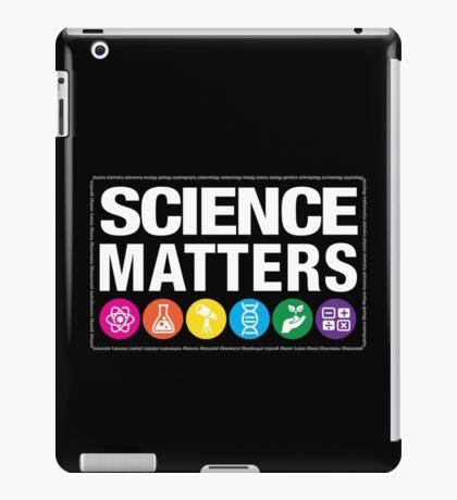 Science Matters iPad Case/Skin