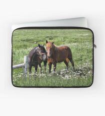 South Dakota Horses Laptop Sleeve