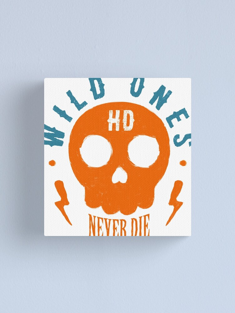 Alternative Ansicht von Wild Ones Never Die Leinwanddruck