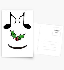 CHRISTMAS GIFTS - MUSIC FOR THE WHOLE FAMILY -  SOLD Postcards