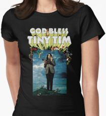 God Bless Tiny Tim Women's Fitted T-Shirt