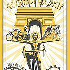 Le Grande Boucle Tour de France Poster by SFDesignstudio