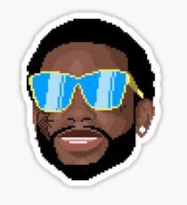 Gucci Mane 8 bit Sticker