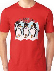 Graduation Penguins - Class of 2017 Unisex T-Shirt