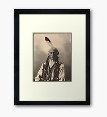 White Buffalo - Cheyenne Framed Print