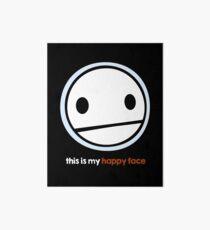 "TheMeatly - ""Happy Face"" Impression rigide"