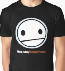 "TheMeatly - ""Happy Face"" Graphic T-Shirt"
