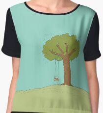 The Reading Tree Women's Chiffon Top