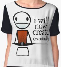"TheMeatly - ""I Will Now Create"" Chiffon Top"