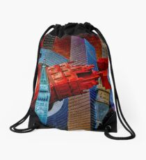 Sculpture City Drawstring Bag