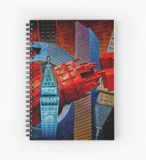 Sculpture City Spiral Notebook