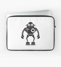 Cute Robot 7 Laptop Sleeve