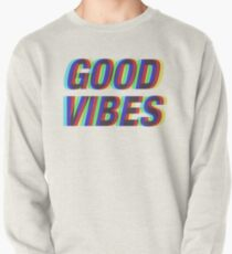 Sudadera cerrada Good Vibes Techicolor