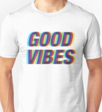 Good Vibes Techicolor Unisex T-Shirt