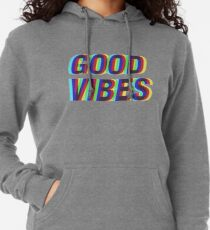 Good Vibes Techicolor Lightweight Hoodie