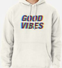 Good Vibes Techicolor Pullover Hoodie