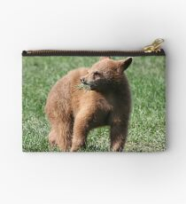 Black Bear Cub Studio Pouch