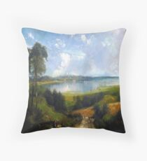 Madison in 1880 by my great great grandmother Throw Pillow