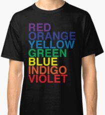 ROYGBIV Reverse by BenCapozzi Classic T-Shirt