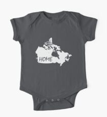 Canada Home One Piece - Short Sleeve