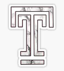 Temple University Marble Sticker