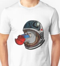 Space Mandrill Unisex T-Shirt