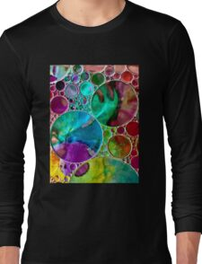 Liquid Stained Glass Long Sleeve T-Shirt