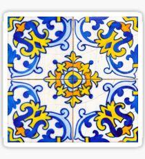Vintage Azulejos Tile Sticker